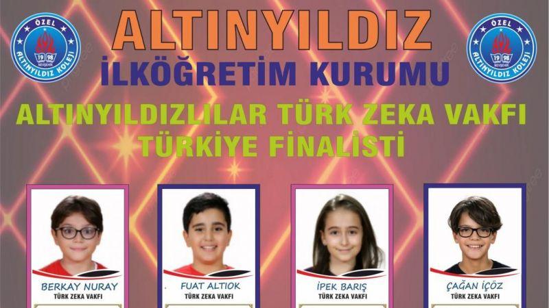 Altınyıldızlılar Türkiye Finallerinde