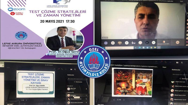 Altınyıldız'da Sınava Hazırlık Strateji Semineri