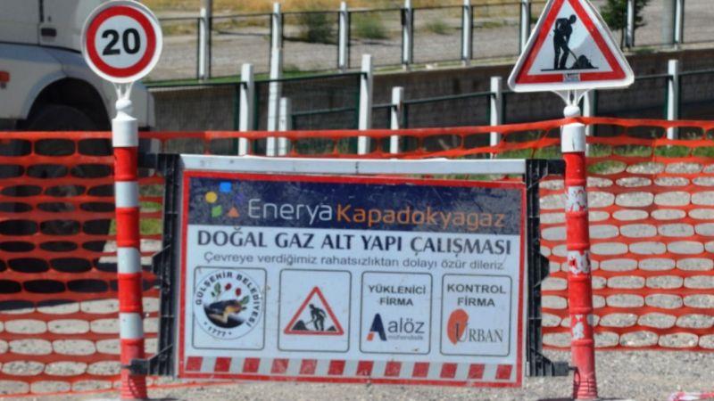 Gülşehir'de Doğalgazsız Ev Kalmayacak