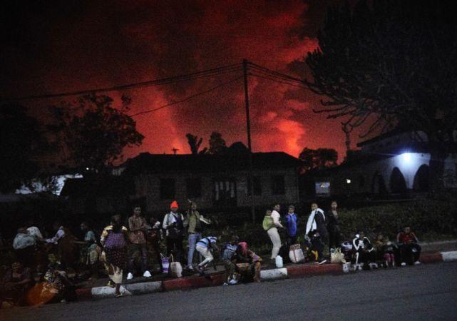 Kongo'da Yanardağ Patladı