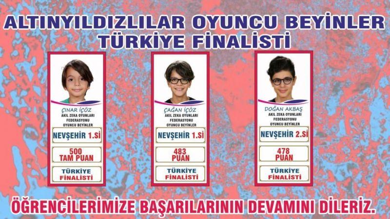 Altınyıldızlılar Oyuncu Beyinler Türkiye Finalisti