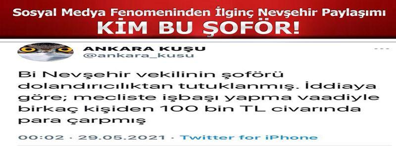 Nevşehir'de Herkes Bu İddiayı Konuşuyor