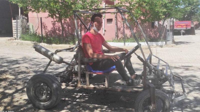 Komşu İlin Mucit Gençleri Hurda Malzemelerle Kendi Araçlarını Yaptı