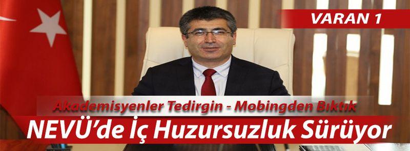 Hacı Bektaş Veli Üniversitesinde İstifa İsyanı Başladı
