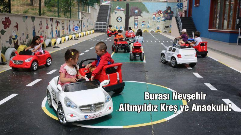 Burası Nevşehir Altınyıldız Kreş ve Anaokulu!