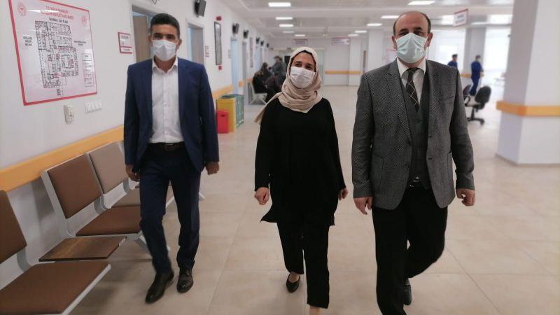 İl Sağlık Müdürü Ünlübay'dan Yeni Nevşehir ADSM'ye İnceleme