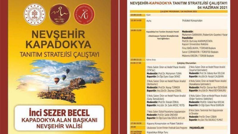 Kapadokya Tanıtım Stratejisi Çalıştayı Tarihi Yaklaşıyor