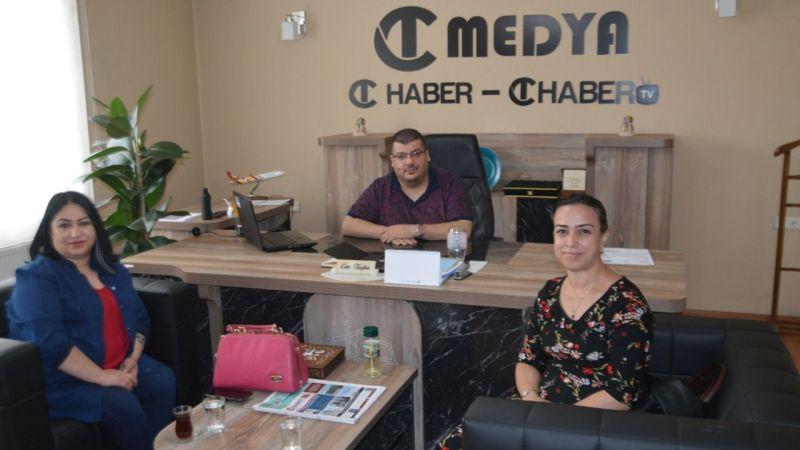 CHP Kadın Kolları Başkanı'ndan CT Haber'e Ziyaret