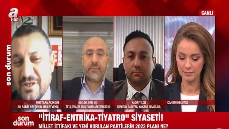 Nevşehir Milletvekili Açıkgöz'den Tiyatro İttifakı Çıkışı