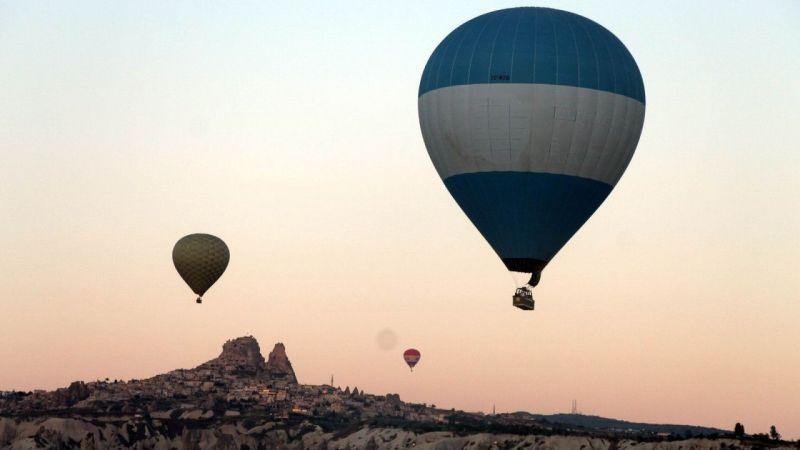 Olumsuz Hava Şartları Balon Turlarını Durdurdu