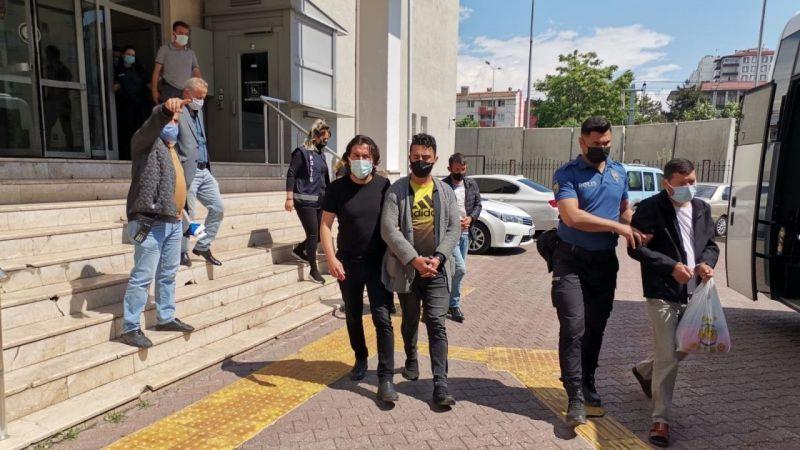 Kayseri'de Çeşitli Suçlardan 30 Adrese Eş Zamanlı Operasyon