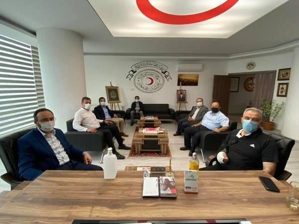 AK Parti Teşkilatı STK'ları Ziyarete Çıktı