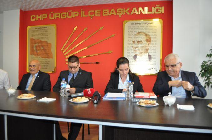 CHP ve İYİ Partiden,  Ürgüp Belediyesinde Yolsuzluk Çıkışı