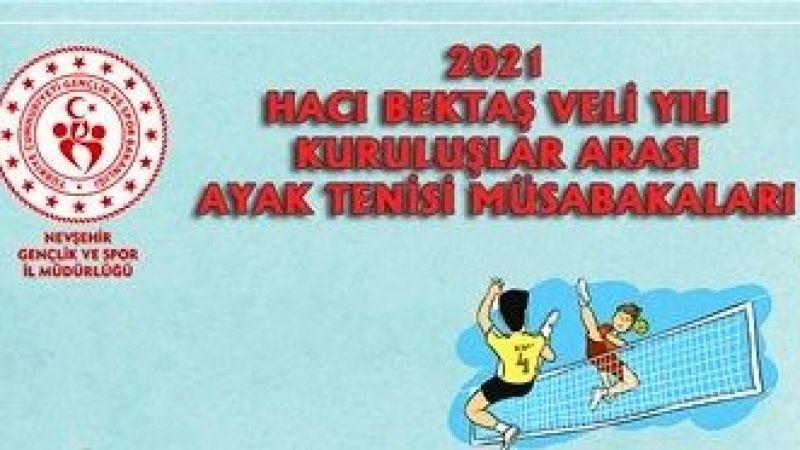 Ayak Tenisi Müsabakaları 7 Haziran'da Başlıyor