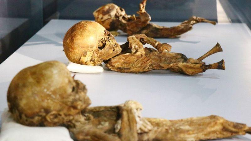 9. ve 11. Yüzyıla Ait Mumyalar Aksaray'da Sergileniyor