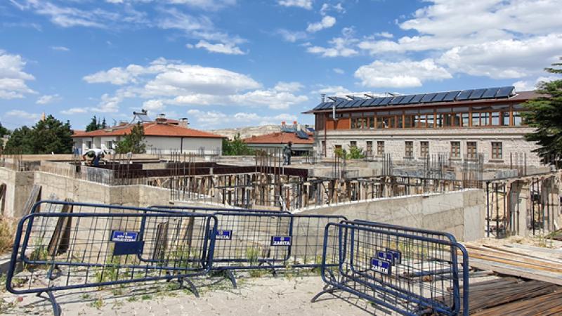 112 Acil Sağlık Hizmetleri İstasyon Binası Yapımı Sürüyor