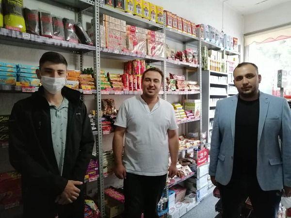 Gülşehir AK Gençlik Esnaf Ziyaretlerinde