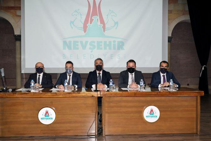 Nevşehir Belediye Meclis Toplantısı Yapıldı