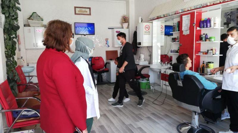 Kozaklı'da Salgın Tedbirleri Denetleniyor