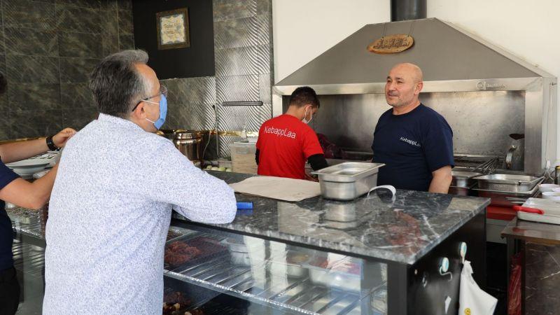 Belediye Başkanı Savran'dan Esnaf Ziyareti