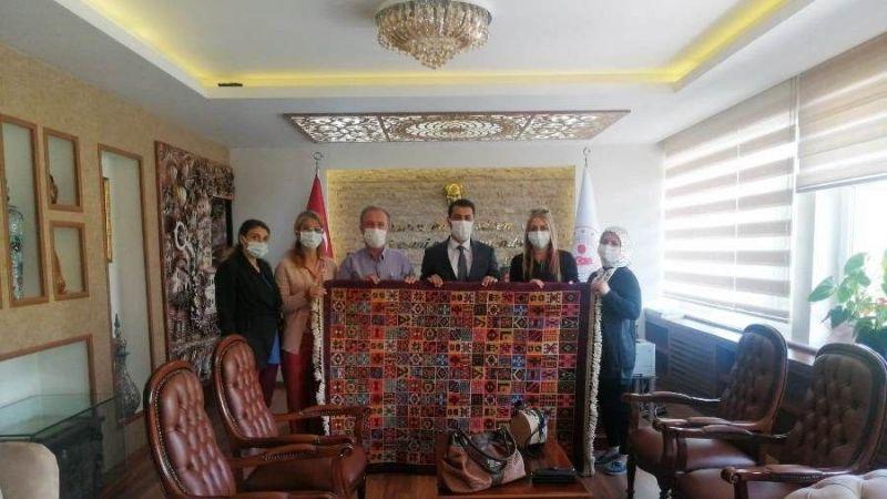 HEM Müdürü Gümüştepe'den Kaymakam Öner'e Ziyaret