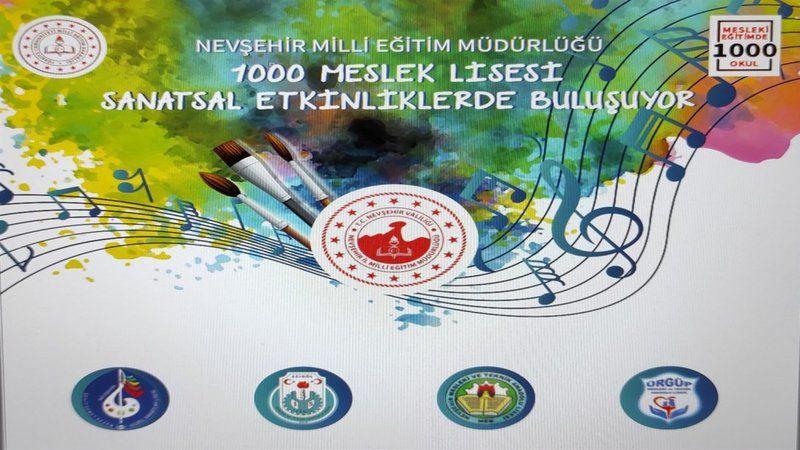 Nevşehir'de Sanal Resim Sergisi Erişime Açıldı
