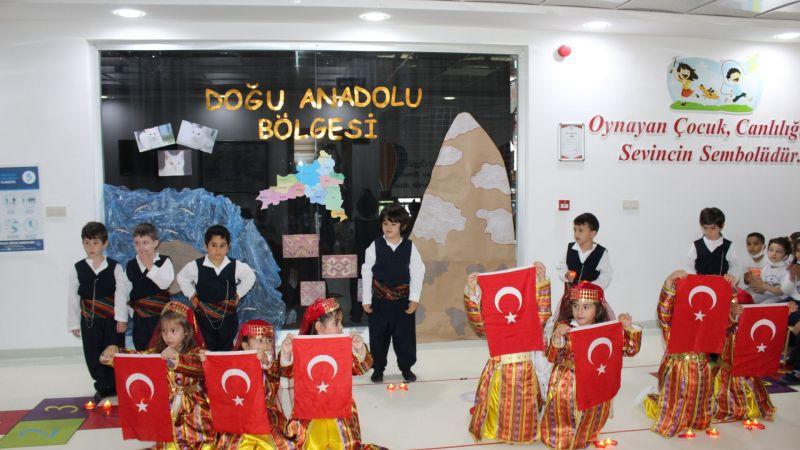 Altınyıldız Kreş ve Anaokulu, Bugün Doğu Anadolu'da!