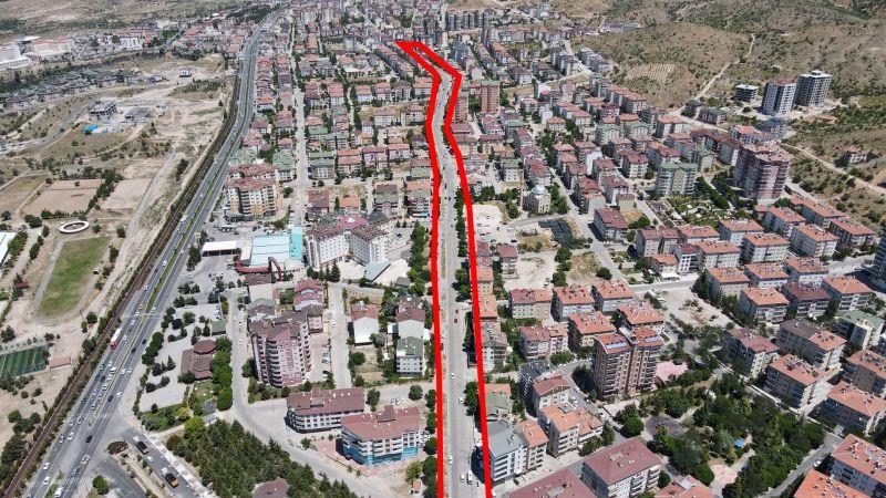 Nevşehir Belediyesi Vefa Küçük Caddesi'nde de El Attı