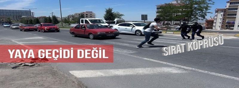 Nevşehir'de Yaya Geçitleri Tehlike Saçıyor!