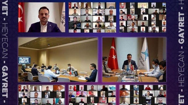 TÜGVA Nevşehir Temsilcisi Cingitaş İl Temsilcileri Toplantısına Katıldı