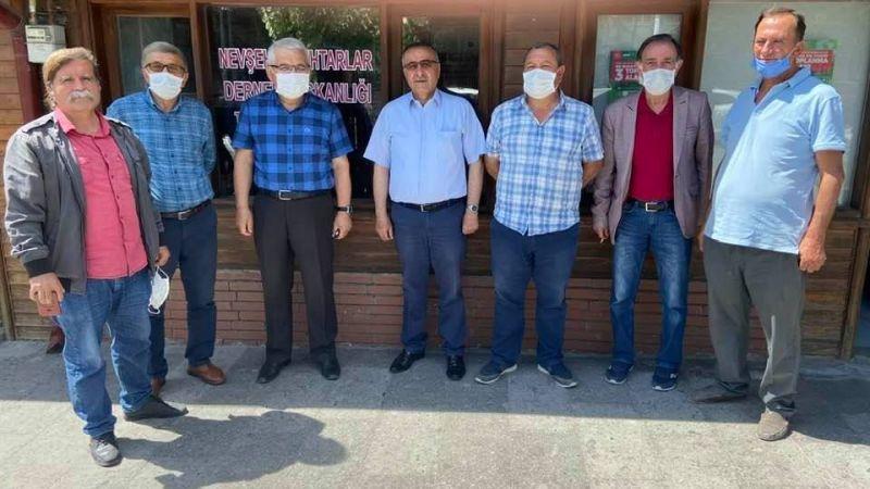 Başkan Gülmez'den Mahalle Muhtarlarına Ziyaret