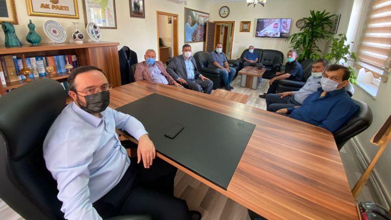 AK Parti İl Başkanı Kemikkırana Nevşehir İl Ziraat Odaları Koordinasyon Başkanlığı'ndan Ziyaret