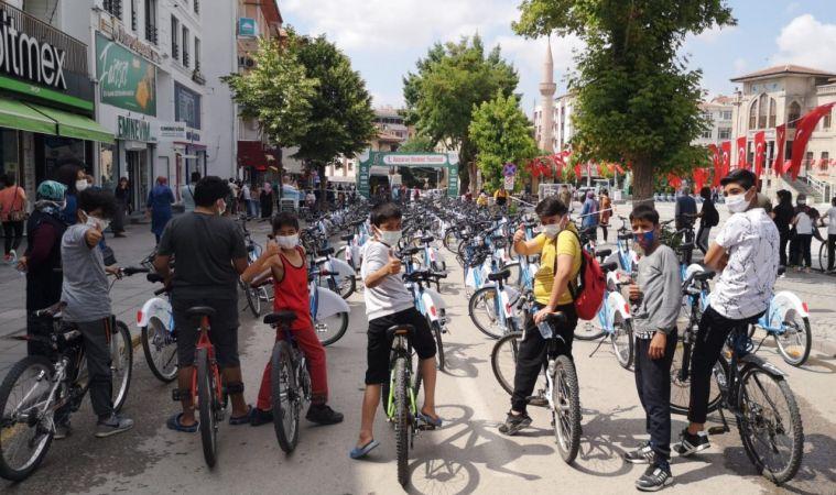 Aksaray'da Yeni Nesil Bisiklet Sistemi Projesi Hayata Geçirildi