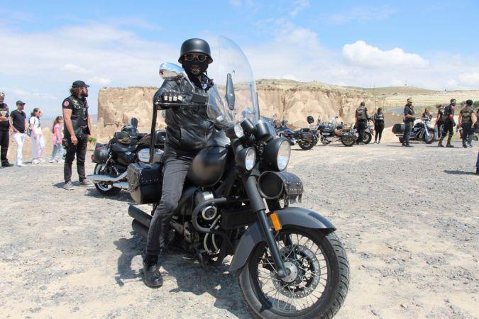 Kapadokya'da Motosikletçilerin Yemin Töreni