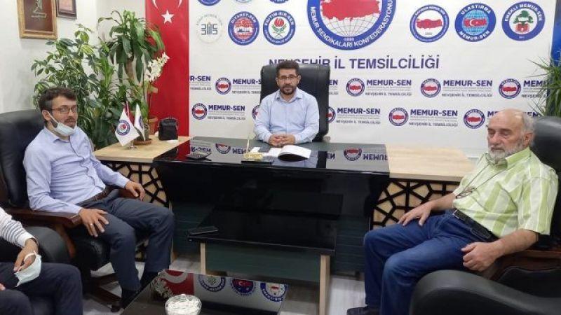 Şuurlu Öğretmenler Derneği Başkanı Mustafa Aydemir Görevini Üsame Telis'e Devretti.