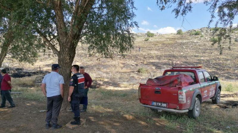 Karaburç Köyü'nde Orman Yangını!