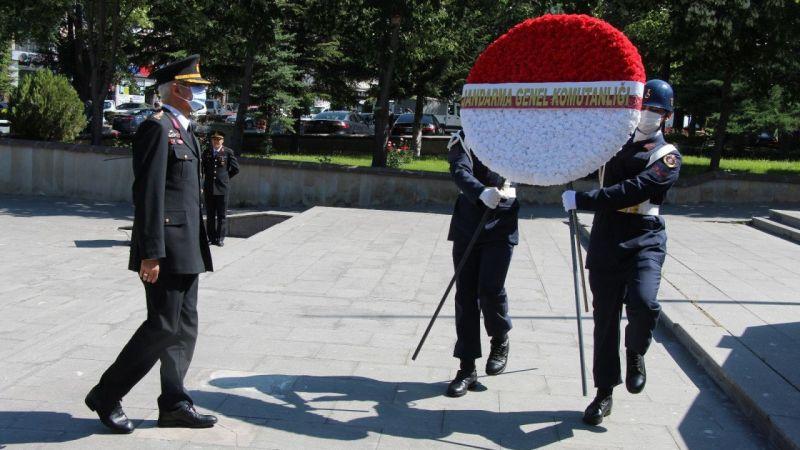 Jandarma'nın 182. Kuruluş Yıl Dönümü Törenle Kutlandı