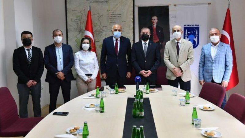 Bekir Ödemiş Ankara'da Yine Büyük İşler Yapıyor