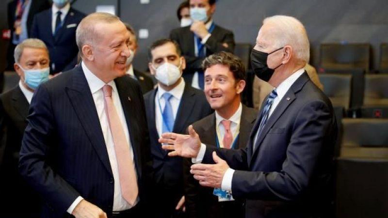Cumhurbaşkanı Erdoğan İle ABD Başkanı Biden Arasında Ayaküstü İlk Temas Gerçekleşti.