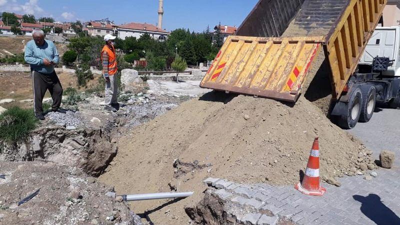 Ortahisar'da Sel Felaketinin Ardından Onarım Çalışmaları Sürüyor
