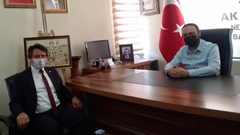Sendika Başkanı Çetin'den AK Partiye Ziyaret