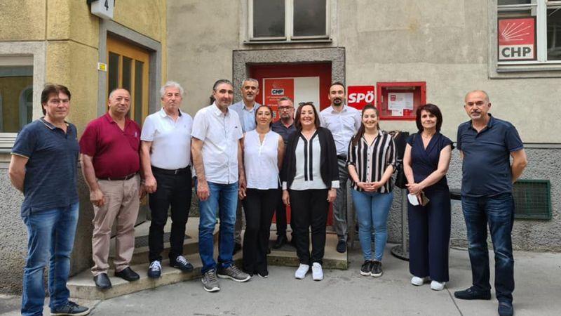 Altıok'dan CHP Avusturya Örgütüne Ziyaret