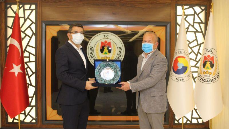 NTB Başkanı Salaş'a, Başsavcı Altuğ Kürşat Şahin'den Veda Ziyareti