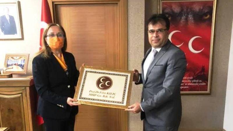 Dündar'dan MHP Genel Başkan Yardımcısı Kılıç'a Ziyaret