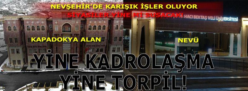 Kapadokya Alan Başkanlığı mı Yoksa Talan Başkanlığı mı?