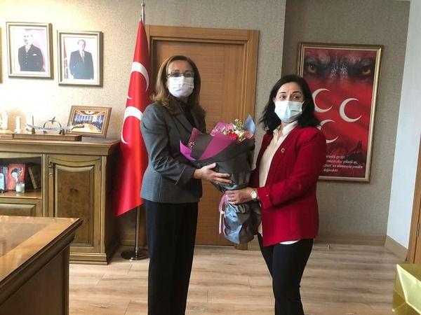MHP'li Kadınlardan Başkent Çıkarması