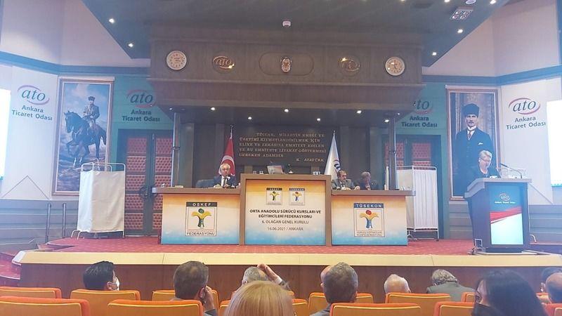 Nevşehir Sürücü Kursu Sahipleri Genel Kurulda!