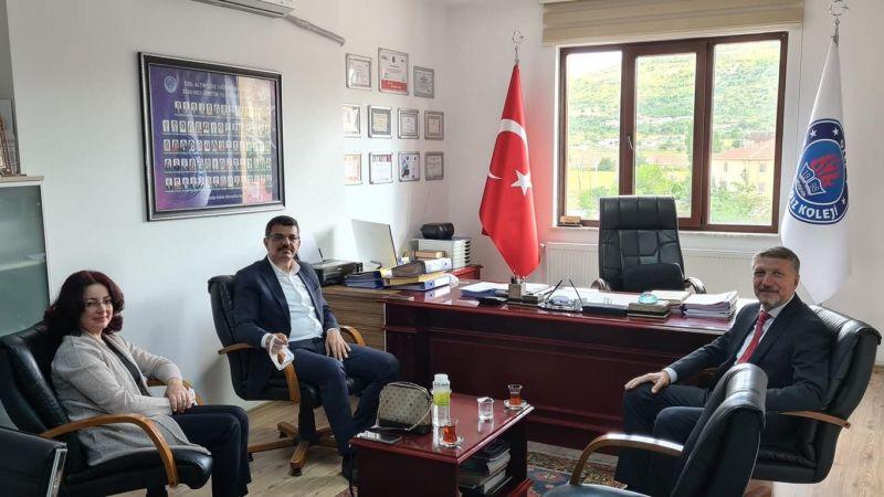 Nevşehir Cumhuriyet Başsavcısı Ve Eşinden Altınyıldıza Veda