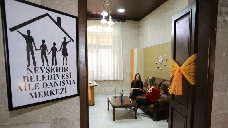 Nevşehir Belediyesi'nden Ailelere Ücretsiz Danışmalık Hizmeti