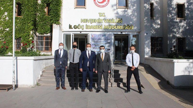 Göç İdaresi Genel Müdürü Nevşehir'i Ziyaret Etti